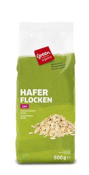 green Haferflocken zart