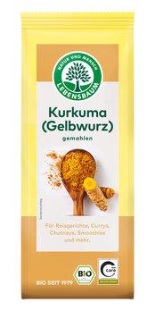 Kurkuma, gemahlen (Gelbwurzel), für die vegane Küche
