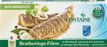 Brathering-Filets in Bio-Marinade