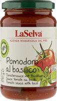 Tomatensoße pur mit Basilikum