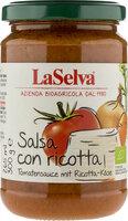 Tomatensauce mit Ricotta-Käse