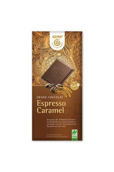 Espresso Caramel Schokolade