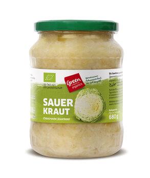 Sauerkraut von Green im Glas