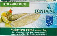 Makrelenfilets o. Haut in