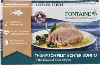 Echter Bonito in Bio Olivenöl