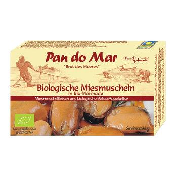 Miesmuscheln in Bio-Marinad