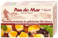 Tintenfischstücke galizische Soße mit Gemüse