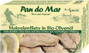 Makrelenfilet in Olivenöl