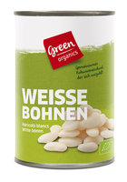 green Weiße Bohnen in der Dose