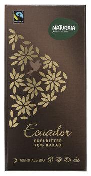Edelbitter Schokolade 70 % Ecuador