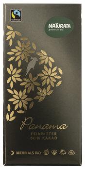 Edelbitter Schokolade Panama 80%