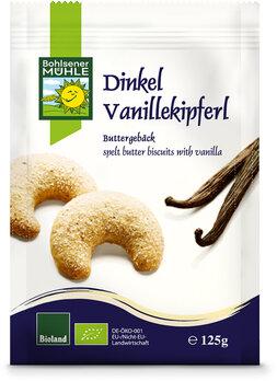 Dinkel-Vanillekipferl