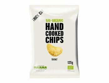 Chips, Handcooked Chips gesalzen