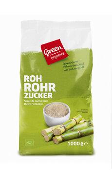 Zucker Roh Rohrzucker hell, green