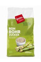 Zucker, Rohrohrzucker hell, green