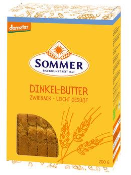 Dinkel Butter Zwieback gesüßt