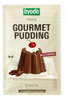 Gourmet Pudding Schoko glutenfrei