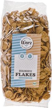 Braunhirse Flakes glutenfrei, vegane Küche