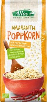 Amaranth-Poppkorn vegan, ungesüßt