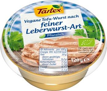 Vegane Tofu-Wurst nach feiner