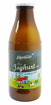 Joghurt natur 3,7% cremig gerührt in der Flasche