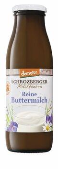 Buttermilch Demeter in der Flasche