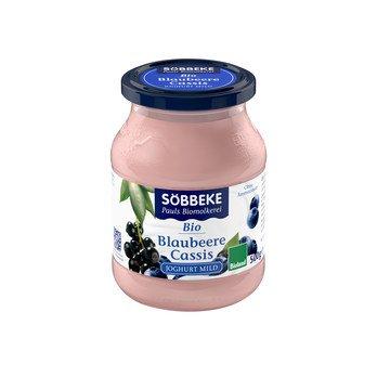 Fruchtjoghurt Blaubeere-Cassis Joghurt