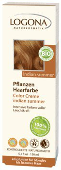 Haarbarbe, Creme Tube indian summer