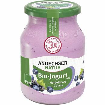 Joghurt Heidelbeer-Cassis