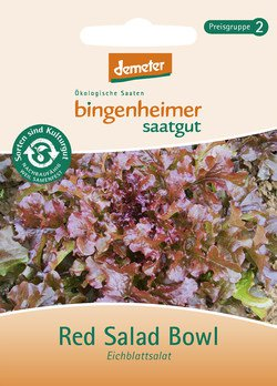 Eichblattsalat Red Salad Bowl
