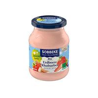 Erdbeer-Rhabarber-Joghurt