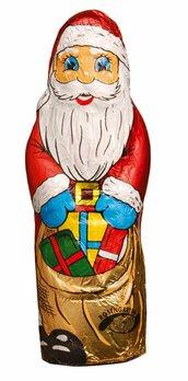 Weihnachtsmann Vollmilch in Stanniol