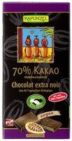 Edelbitter Schokolade 70%