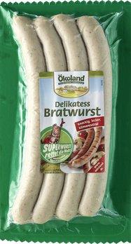 4 Bio-Bratwurst (62,5g/St)