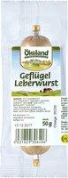 Geflügelleberwurst fein,50g/St