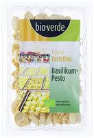 Frische Tortellini mit Basilicum Pesto