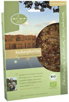Bio-Karpfenfilet m. Kräuter
