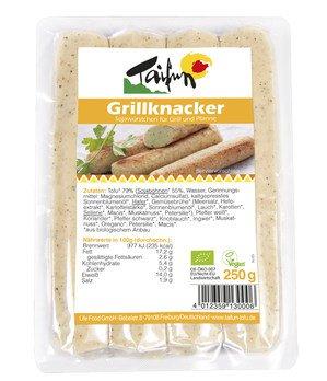 Grill Knacker aus Tofu (4x62g)