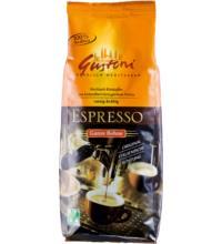 Espresso, Gustoni ganze Bohne