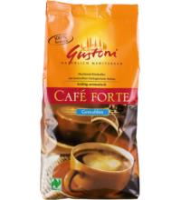 Café forte, kräftig aromatisch