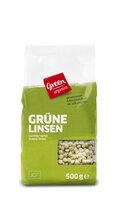 green Linsen grün