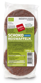 green Schoko-Reiswaffeln