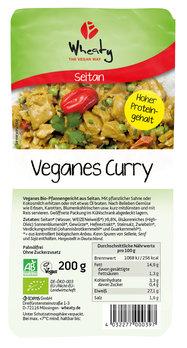 Vegankebab Curry