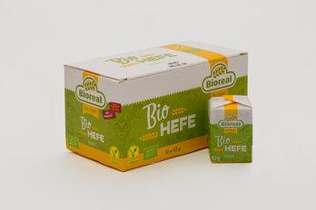 Hefe, Bioreal Bio-Hefewürfel, frisch